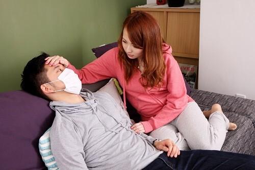 kanbyou 1 500x333 - 風邪を引いた彼氏が絶対喜ぶ見舞い時に持参するべき持ち物と食事内容